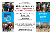 Open news item - WSO Try-It Experience & 40th Anniversary Kick Off