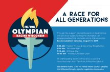 Open news item - 2019 Olympian 5k/10k for All Ages